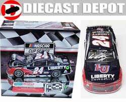 Autographed William Byron 2020 Daytona First Win Raced Version Liberty 1/24 Act