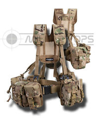 Plce Webbing 6 Piece Multicam Mtp Issue Style Set Army Afghan British Cadet
