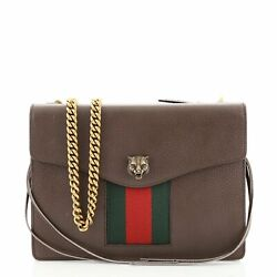 Gucci Animalier Web Chain Shoulder Bag Leather Small $1719.00