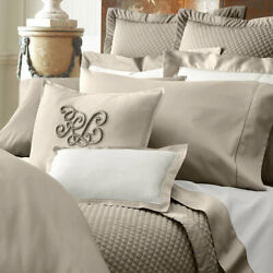 Cape Tan 2 Pc Set King Deep Fitted Sheet And King Flat Sheet New