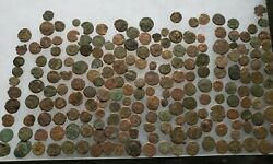 200 Roman Coins Mostly In The 300 Ad Era Valens Constantine