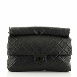 Reissue Roll Clutch Quilted Lambskin Jumbo