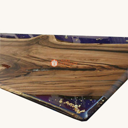 Luxury Resin Table Top, Epoxy Table, Coffee Table Acacia Wooden Epoxy Table Deco