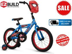 Marvel Spider-man 16-inch Boysand039 Bike For Kids By Huffy