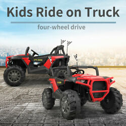 12v Kids Ride On Car Truck Suv Atv Quad Electric Battery Powered W/ Mp3 Remote