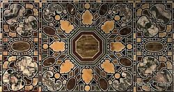36 Inch Marble Dining Table Top Peitra Dura Art Coffee Table Top For Home Decor
