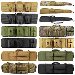 Tactical Rifle Bag Gun Padded Soft Case Hunting Storage Backpack 37quot; 39quot; 47quot; 52quot; $32.50
