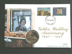 Sierra Leone - Unc 1997 One Dollar 1 Coin - Numismatic First Day Cover St03