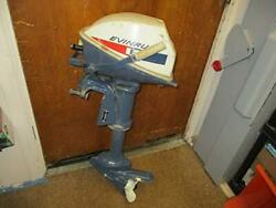 Vintage Evinrude Lightwin 2 Cycle 2 Cylinder 4 Speed Boat Engine Parts/repair