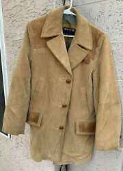 Vintage 70s Mens Sears The Country Coat Corduroy Coat 40 Regular - Business