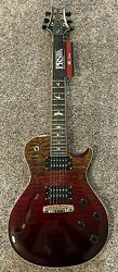 Prs Paul Reed Smith Se Zach Myers Cherry Charcoal Fade Only 30 Made - Brian's