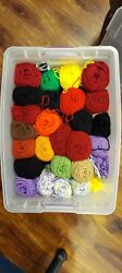I Love This Yarn Huge Lot Of Full And Part Skeins