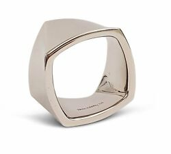 Frank Gehry For And Co. White Gold Torque Ring
