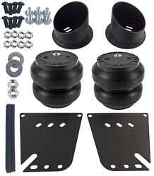 Air Ride Front Suspension Brackets And Ss7 Slam Air Bags For 1958-64 Chevy Impala