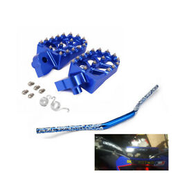 Foot Pegs Handlebar Kit For Yz250 Yz85 Wr426f Wr450f Yz250x Yz450fx Motorcycle