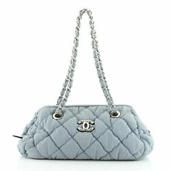 Bubble Bowler Bag Quilted Nylon Small