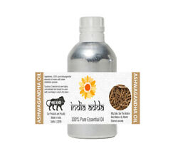 Ashwagandha Essential Oil Pure And Natural Undiluted 250 Ml To 1l From India Big