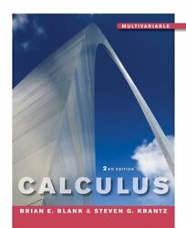 Calculus By Steven G. Krantz And Brian E. Blank 2011 Hardcover