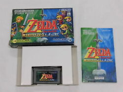 Z6541 Gameboy Advance Legend Of Zelda Link To The Past/four Swords Gba W/box