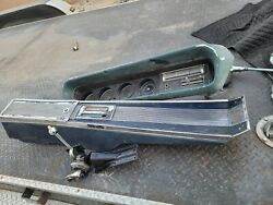 1965 Pontiac Gto/le Mans Center Console, Air Condition Dash W Guages And Shifter