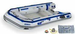 New Sea Eagle 126srk 12'6 Sport Runabout Inflatable Boat Swivel Seat Package