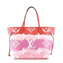 Louis Vuitton Neverfull Nm Tote Limited Edition Escale Monogram Giant Mm