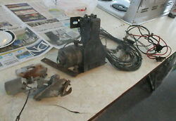 1956 Cadillac Power Trunk Release Pull Down Switch And Wiring Custom Rat Rod