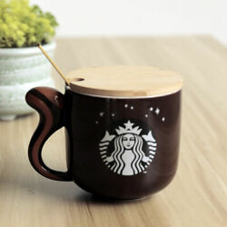 Starbucks Coffee Cup Squirrel Mug Limited Gift Ceramic Cup Milk Cup 999+ins Like