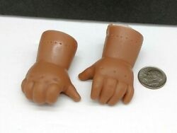 Vinyl Baby Doll Arms Thumb Suckers Black Right And Left Replacement Parts 2 Long