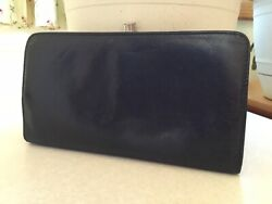 Hobo International Black Leather Wallet PERFECT SIZE $55.00