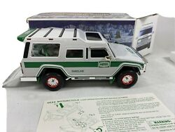Hess 2004 Truck Sport Utility Vehicle And Motorcycles In Box Nice Condition