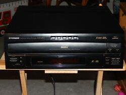 Pioneer Cld-m301 Ld Laserdisc Cdv And 5-disc Cd Player Multi-play