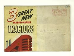 1953 Massey-harris Tractors Mailed Brochure 44 55 Pony And New 33 Colt Mustang