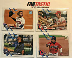 2021 Topps Series 1 And 2 Photo Variation Short Print Sp You Pick