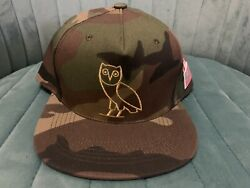 New Ovo Owl Camo Embroidered Snapback Hat 2015 Canada Usa Flag Octobers Very Own