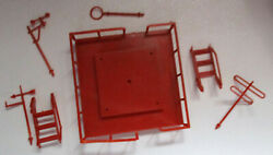 Marx 1950s Atomic Cape Canaveral Play Set Missile Center Building Top