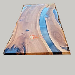 Epoxy Acacia Clear Resin Table Epoxy Coffee Table Epoxy River Dining Table Deco