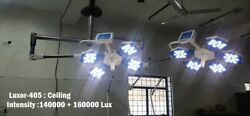 Led Ot Lights Surgical Operation Theater Twin Light 48+60 Luxor-405 Ceiling Led