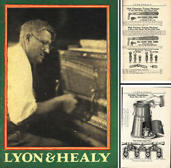 Lyon And Healy Mfg. Co., Chicago - 1926 Catalog Of Piano And Organ Tools - 112 Pgs.