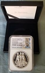 2020 Royal Mint The Three Graces 2oz Silver Ngc Pf70 First Releases In Hand