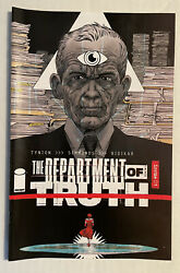 Department Of Truth 1 Declan Shalvey Simmonds James Tynion Image Comics Hot Nm