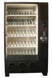 Dixie Narco Bottle Drop Converted Combo Vending Machine Free Shipping