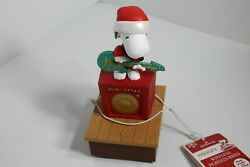2011 Hallmark Peanuts Gang Wireless Christmas Band Snoopy New With Tags