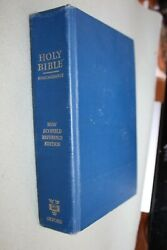 New Scofield Reference Kjv Bible Oxford Edition 1967 Hardcover