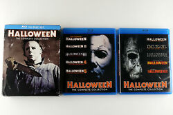 Halloween The Complete Collection Blu-ray Disc 2014 10-disc Discs Are Mint