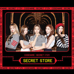 Itzy Official Goods Codename Secret Itzy Secret Store + Tracking Number