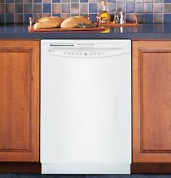 Ge Profile Dishwasher White, Good Used Condition 3 Years Old