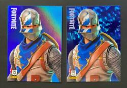 Panini Fortnite Series 1 Holofoil And Crystal Shard Card 156 Blue Squire