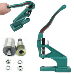 Kam Hand Press Machine And Metal Open Ring Snap Poppers Fastener Press Studs Die