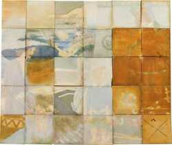 Large Rookwood Chase's Theater Tile Mural Has Discoloration And Fading 30 Tiles
